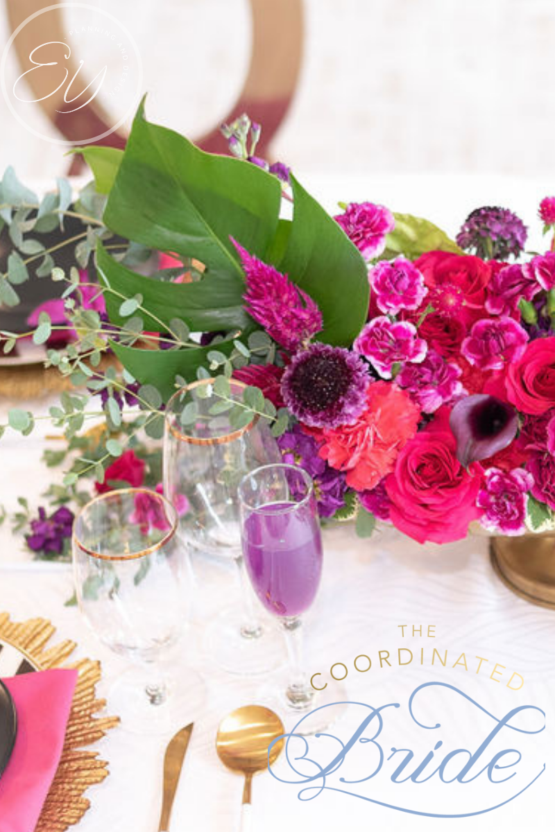 Tropical Brunch Party – Lightbox  Annapolis – Featured In The Coordinated Bride